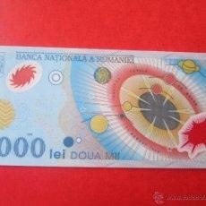 Billetes extranjeros: RUMANIA. BILLETE DE 2000 LEI. 1999. Lote 50368796