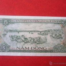 Billetes extranjeros - Viet-nam. billete de 5 dong. 1985 - 50402081