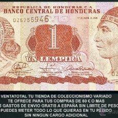 Billetes extranjeros: HONDURAS 1 LEMPIRA AÑO 2008 SC ( INDIO LEMPIRA BALIENTE ) Nº3. Lote 159149629