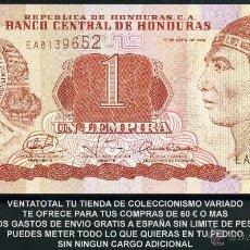 Billetes extranjeros: HONDURAS 1 LEMPIRA AÑO 2008 SC ( INDIO LEMPIRA BALIENTE ) Nº4. Lote 159156237