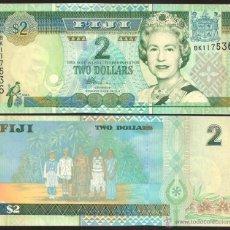 Billetes extranjeros: FIJI - 2 DOLLARS - SIN FECHA (2002) - S/C. Lote 121786794
