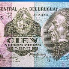 Billetes extranjeros: URUGUAY BILLETE DE 100 PESOS DE 1989 P-62A S/C. Lote 52339603