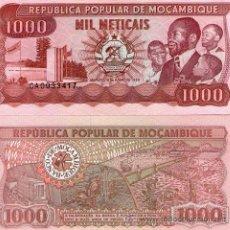 Billetes extranjeros: MOZAMBIQUE - 1000 METICAIS - 16 DE JUNHO DE 1989 - S/C. Lote 57907057