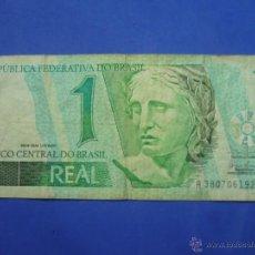 Billetes extranjeros: BILLETE 1 REAL BRASIL ( A 3807061926 C ). Lote 53033861