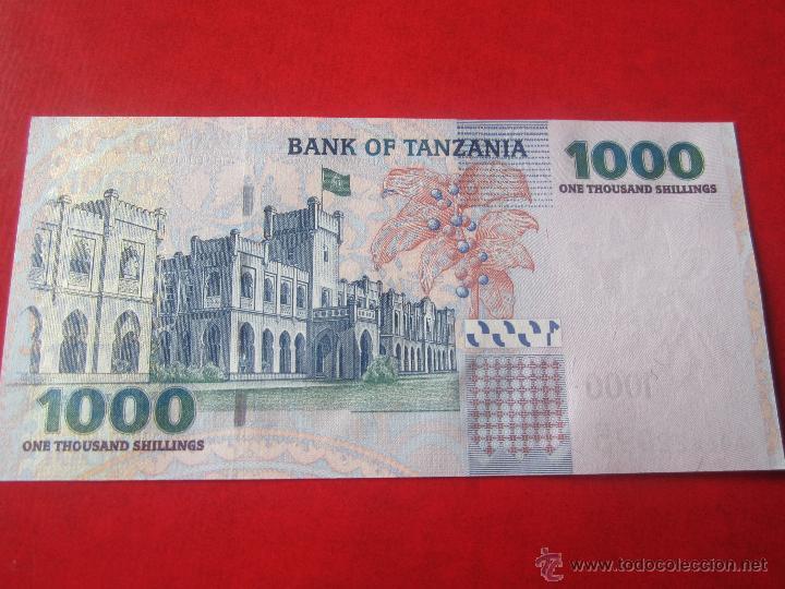 Billetes extranjeros: Tanzania. billete de 1000 shilings. - Foto 2 - 53881315