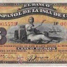 Billetes extranjeros: BILLETE DE 5 PESOS. 1896. BANCO ESPAÑOL DE LA ISLA DE CUBA. SIN CERTIFICADO PLATA.. Lote 53906514