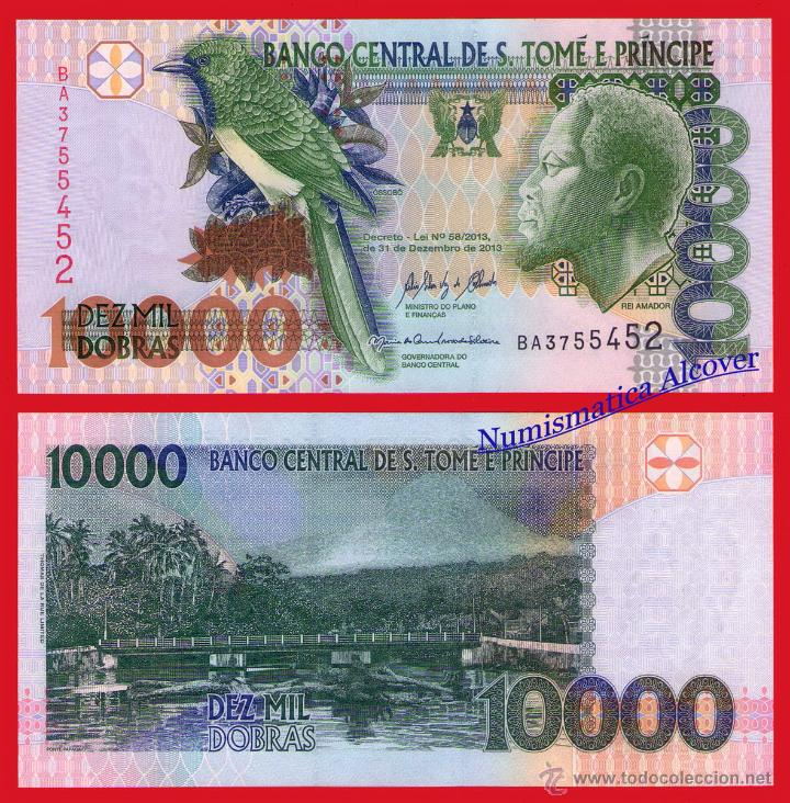 SANTO TOME Y PRÍNCIPE 10000 DOBRAS 2004 PICK 66 B - SC (Numismática - Notafilia - Billetes Extranjeros)