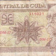 Billetes extranjeros: 0130 BILLETE CUBA USADO. Lote 54422840