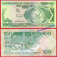 Billetes extranjeros: VANUATU 100 VATU 1982 PICK 1 - SC. Lote 54601243