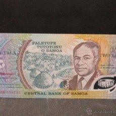 Billetes extranjeros: 2 TALA SAMOA SC. Lote 54696022