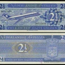 Banconote internazionali: ANTILLAS HOLANDESAS. BILLETE DE 2,5 GULDEN 8.9.1970. PICK 21. S/C. Lote 206906033