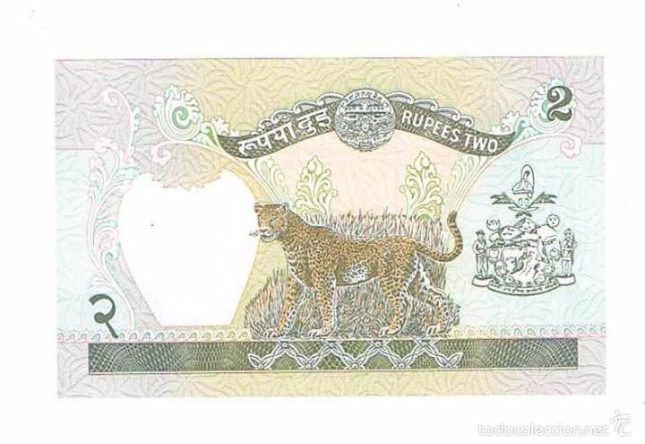 Billetes extranjeros: BILLETE NUEVO NEPAL 2 RUPEES - Foto 2 - 55338477