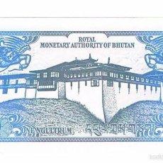Billetes extranjeros: BILLETE NUEVO BHUTAN 1 N´GULTRUM. Lote 55339105