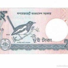 Billetes extranjeros: BILLETE NUEVO BANGLADÉS 2 . Lote 55339129