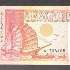 Billetes extranjeros: SINGAPUR - 2 DOLLARS - SIN FECHA (1990) - S/C (VER FOTO ADICIONAL). Lote 60630879