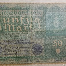 Billetes extranjeros: ANTIGUO BILLETE DE 1919 ALEMÁN DE 50 MARCOS. Lote 56012849