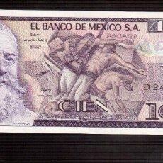 Billetes extranjeros: BILLETES DE AMERICA 100 PESOS MEXICO. Lote 56077542