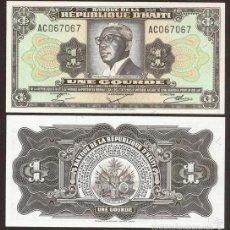 Banconote internazionali: HAITI. 1 GOURDE L.1979. PICK 239. S/C. Lote 254430315