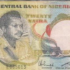 Billetes extranjeros: 0194 BILLETE NIGERIA CIRCULADO. Lote 56594544