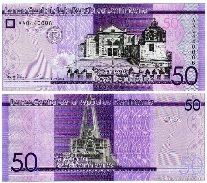 Resultado de imagen para pesos dominicanas