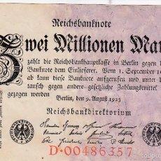 Billetes extranjeros: 0232 BILLETE ALEMANIA AÑO 1923 CIRCULADO. Lote 56910195