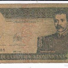 Billetes extranjeros: 0230 BILLETE R. DOMINICANA 10 PESOS ORO CIRCULADO. Lote 56910278