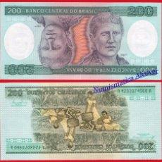 Billetes extranjeros: BRASIL 200 CRUZEIROS 1984 PICK 199 B - SC. Lote 56912658