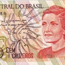 Billetes extranjeros: BRASIL 100 CRUZEIROS PICK 228 S/C. Lote 56957423