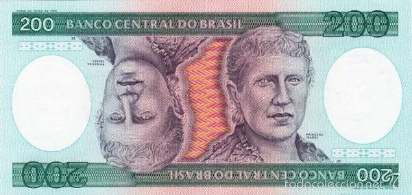 BRASIL 200 CRUZEIROS PICK 199 S/C (Numismática - Notafilia - Billetes Extranjeros)