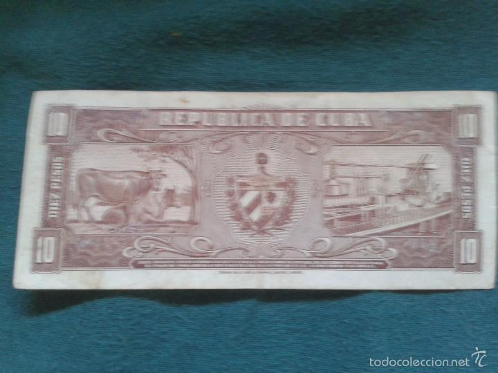 Billetes extranjeros: LOTE DE SEIS BILLETES CUBANOS ,UNO MUY ESPECIAL ANTIGUO ,CON EL CUÑO DEL CHE - Foto 4 - 57011198