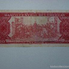 Billetes extranjeros: BILLETE DE 100 PESOS DEL URUGUAY. Lote 57119413