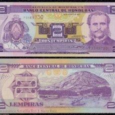 Banconote internazionali: HONDURAS 2 LEMPIRAS MARCO AURELIO SOTO 2004 PICK 80AE SC UNC. Lote 243552715