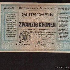 Billetes extranjeros: ESCASO BILLETE CON CASI 100 AÑOS DE ALEMANIA DE 1919 EL DE LAS FOTOS VER TODOS MIS LOTES. Lote 58525692