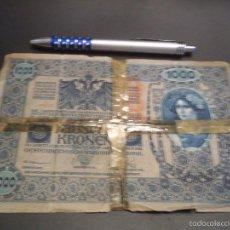 Billetes extranjeros: AUSTRIA 1902 IMPERIO AUSTRO HUNGARO 1000 KRONEN. Lote 191492965