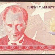 Billetes extranjeros: TURQUIA. 10 LIRAS NUEVAS 2005. PICK 218. S/C.. Lote 59424582