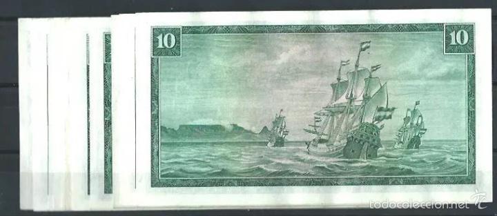 Billetes extranjeros: South África reserve 10 rand 1961 muy raro Ref 7438 - Foto 2 - 91657735