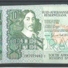 Billetes extranjeros: SOUTH ÁFRICA RESERVE 10 RAND 1978 MUY RARO REF 8546. Lote 90358739