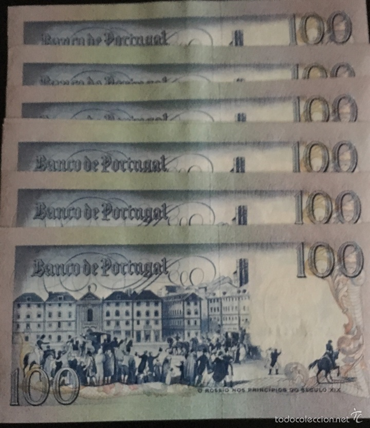 Billetes extranjeros: Portugal 100 escudos 1981 muy raros ref 853 - Foto 2 - 59944146