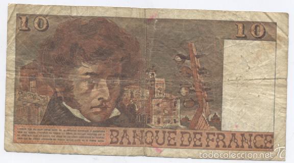 Billetes extranjeros: FRANCIA- 10 FRANCOS-1977 - Foto 2 - 60126923