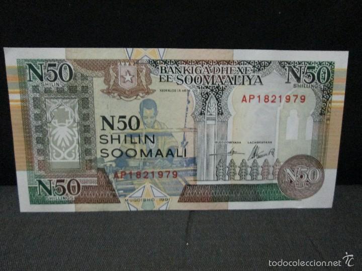 50 SHILIN SOMALIA 1991 SC (Numismática - Notafilia - Billetes Extranjeros)