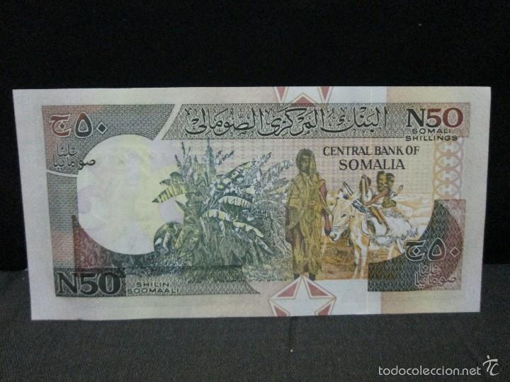 Billetes extranjeros: 50 shilin somalia 1991 sc - Foto 2 - 60870551