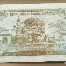 Billetes extranjeros: BILLETE DE VIETNAM DE 100 DONG DE 1992 EN PLANCHA. Lote 63138592