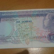 Billetes extranjeros: BILLETE DE SAINT THOMAS AND PRINCE 1000 DOBRAS AÑO 1989 CALIDAD SC NICK 62. Lote 63787447