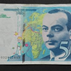 Billetes extranjeros: BILLETES DE 50 FRANCOS FRANCESES. Lote 64102365
