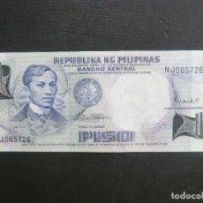 Billetes extranjeros: BILLETE - PLANCHA - FILIPINAS. Lote 64513307