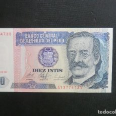 Billetes extranjeros: BILLETE - PLANCHA - PERU. Lote 64513335