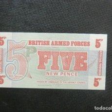 Billetes extranjeros: BILLETE - PLANCHA - BRITISH ARMED FORÇES. Lote 64514111