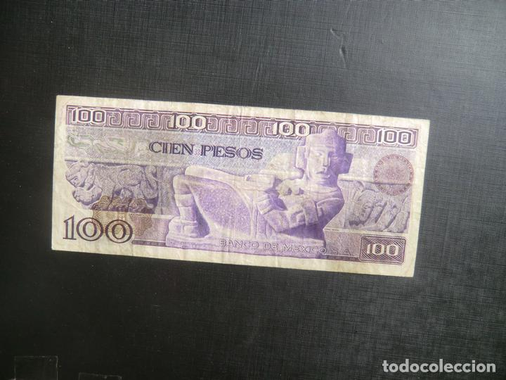 100 PESOS - MEXICO - RARO (Numismática - Notafilia - Billetes Extranjeros)