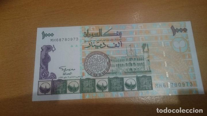 BILLETE DE SUDAN DE 1000 DINARS AÑO 1996 CALIDAD SC NICK 59 (Numismática - Notafilia - Billetes Internacionales)