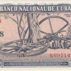 Billetes extranjeros: BILLETES - CUBA - 10 PESOS 1960 - SERIE N 697127 A - PICK-88C (SC-). Lote 176148680
